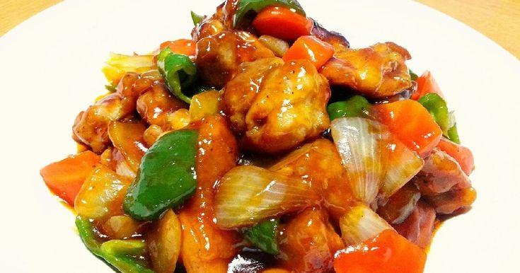 フライパンひとつで作れる☆揚げない酢鶏 by HARU〜 [クックパッド] 簡単おいしいみんなのレシピが243万品