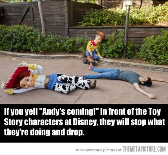 So know what I'm doing next time I go to Disney World!