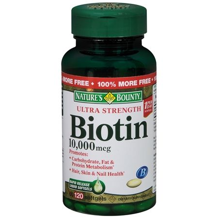 Nail growth and hair growth unbelievable when taking Biotin.
