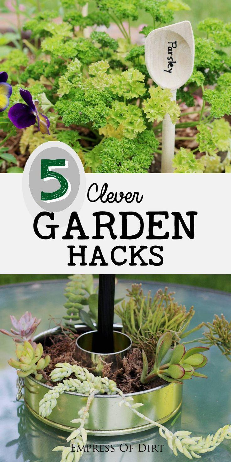 1637 best gardening images on pinterest gardening for Garden design hacks