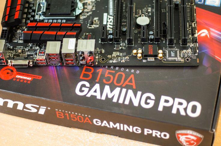 Análisis de la placa B150A GAMING PRO