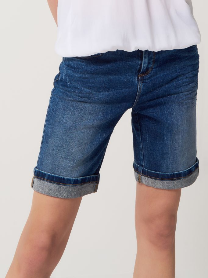 Jeansowe szorty, MOHITO, QN243-95J
