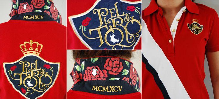 Pétalos de rosas en tu cuello || #rosas #polos #moda #mujer #verano #roses #poloshirts #fashion #Summer
