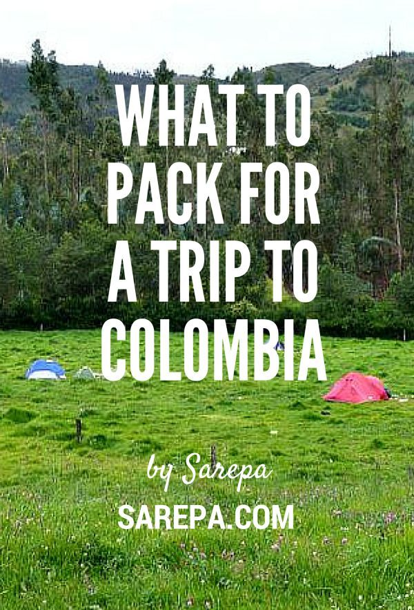 What to pack for a trip to Colombia