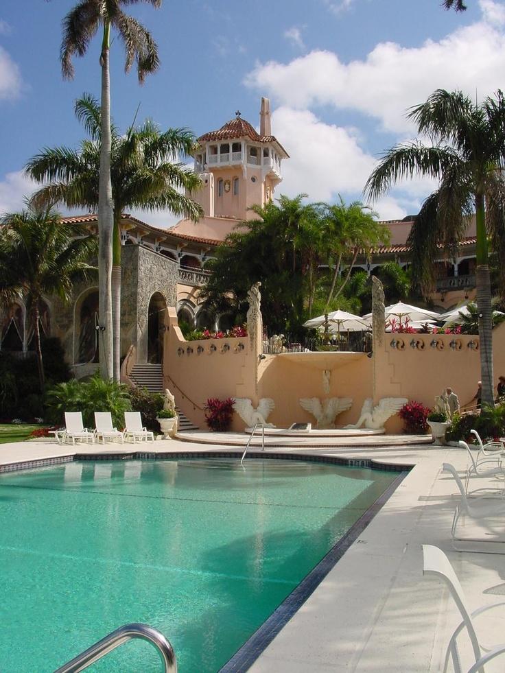 106 best temp mar a lago exterior images on pinterest - Palm beach pool ...