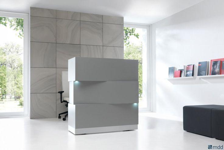 ZEN LADA RECEPCYJNA #meble #biuro #gabinet #recepcja #meblebiurowe #meblegabinetowe #nowoczesny #desing #biel #szarości #minimalizm #inspiracja #oferta #furniture #furnituredesign #officedesign #white #greys #moderndesign #krakow #katowice #warszawa #ouroffer #meblepolska