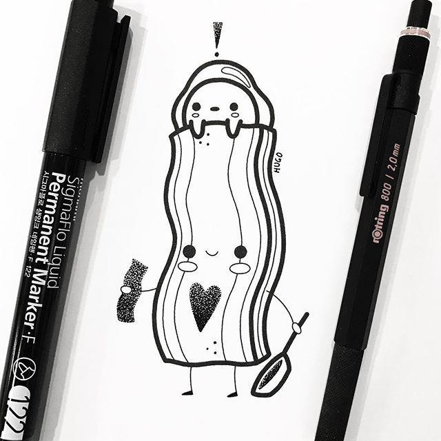 Loving my bacon self 💕