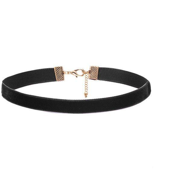 Black Velvet Choker ($100) ❤ liked on Polyvore featuring jewelry, necklaces, velvet choker, velvet necklace, velvet jewelry, choker necklace and black jet jewelry