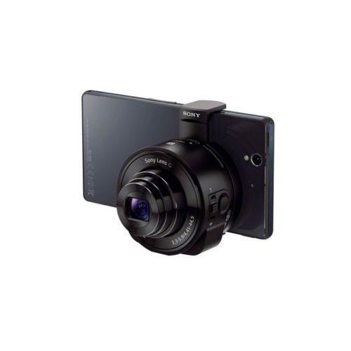 [Sony] DSC-QX10/B Smartphone Attachable Lens-Style Camera NFC WiFi CMOS (Black)
