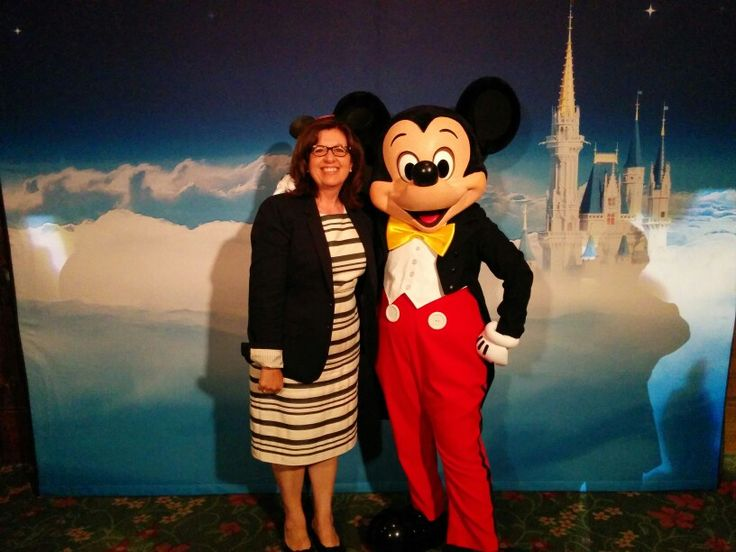 """What a treat greeting Mickey Mouse at the Disney Social Media Moms Celebration """"On-The-Road"""" New York City #DisneySMMC"""