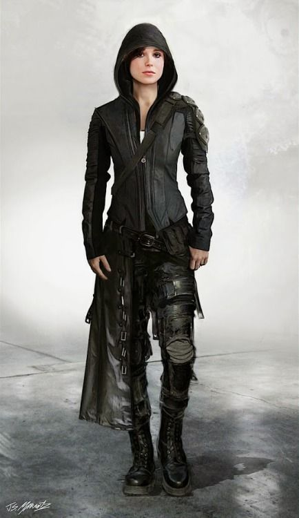 Wanderer   I want this outfit   black, alternative, hunter