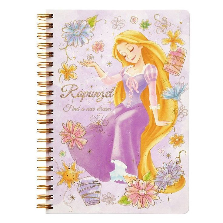 Disney Store Japan Tangled Princess Rapunzel Ring Notebook   | Collectibles, Animation Art & Characters, Animation Characters | eBay!