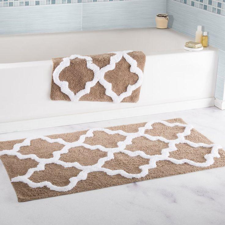 Trellis bathroom rug 0.6 nm torque wrench