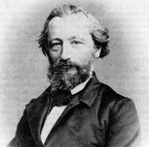 Eduard Baltzer (1814-1887) was the founder of the first German vegetarian society in 1868.