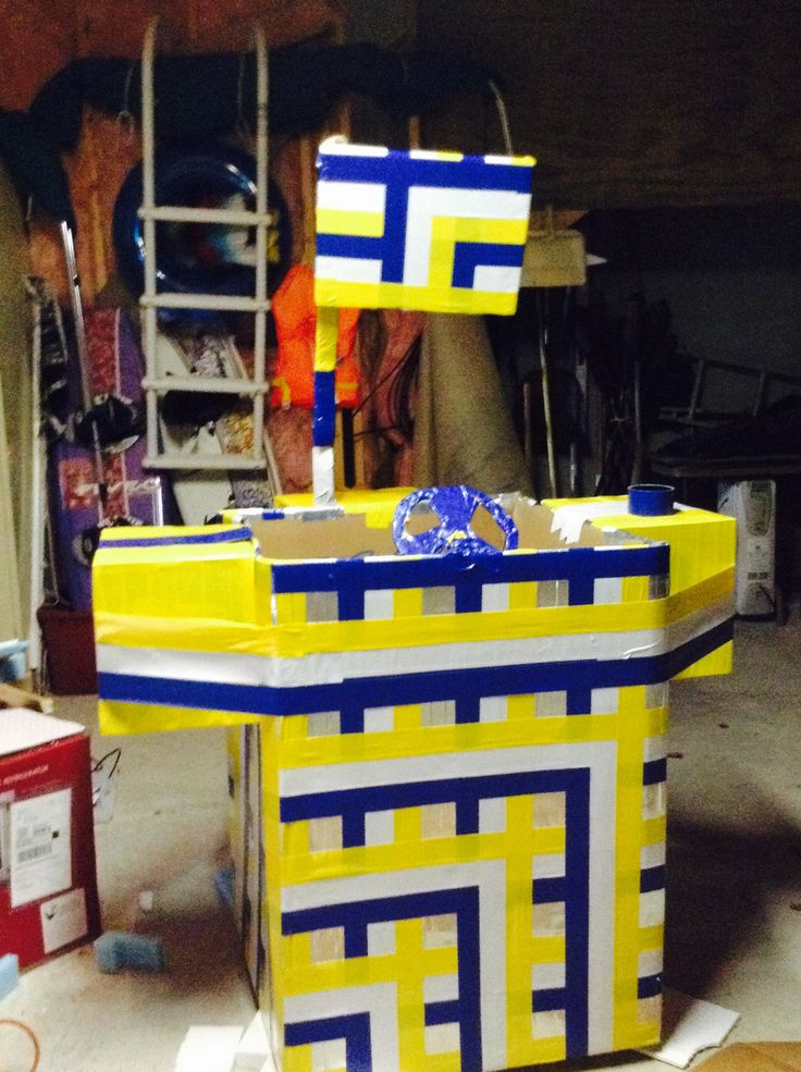 how to build a cardboard boat with only duct tape
