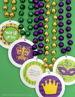 Party Ideas by Mardi Gras Outlet: Free Mardi Gras Printable Stickers and Labels