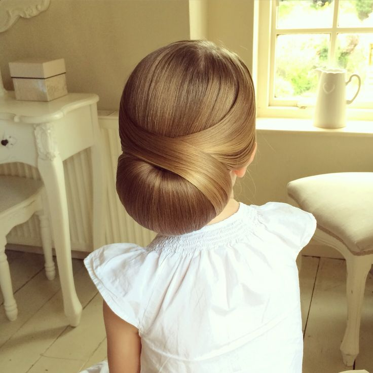 Low Chignon by SweetHearts Hair Design