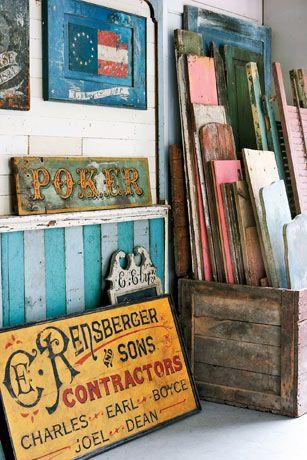 Brian Laurich, Antique Wooden Sign Maker - Country Living#slide-2#slide-4