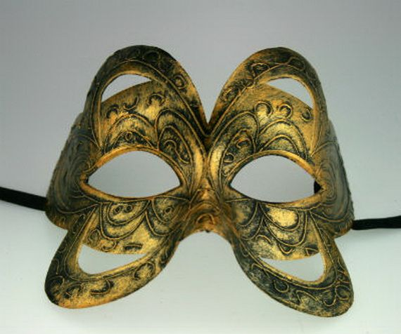 how to make a venetian mask out of paper mache