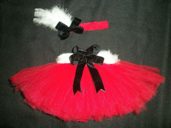Newborn Santa baby tutu set, Christmas or Newborn photoshoot via Etsy