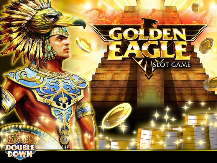 A larger-than-life hit slot arrives at DoubleDown. Try Golden Eagle now with 250,000 FREE chips by tapping the Pinned Link (or use code WFPHJB)