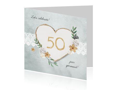 Vijftig Jaar Getrouwd