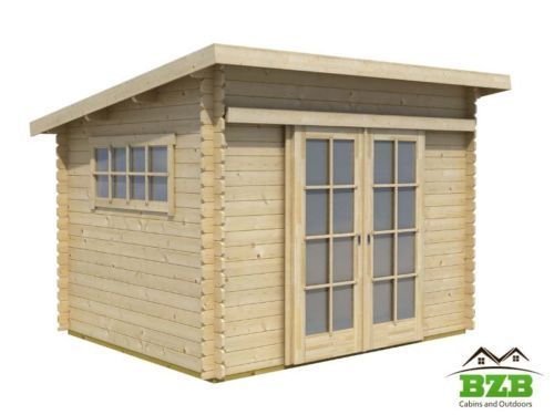 BZB Cabins Shed Kit   DIY   Modern Shed Addition To Your Backyard Garden!