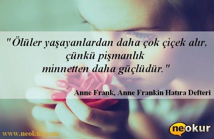 Anne Frankin Hatıra Defteri - Anne Frank