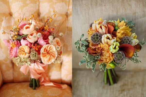 stylemepretty.com/fall weddings | ... Flowers: Scabiosa Pods - Elizabeth Anne Designs: The Wedding Blog