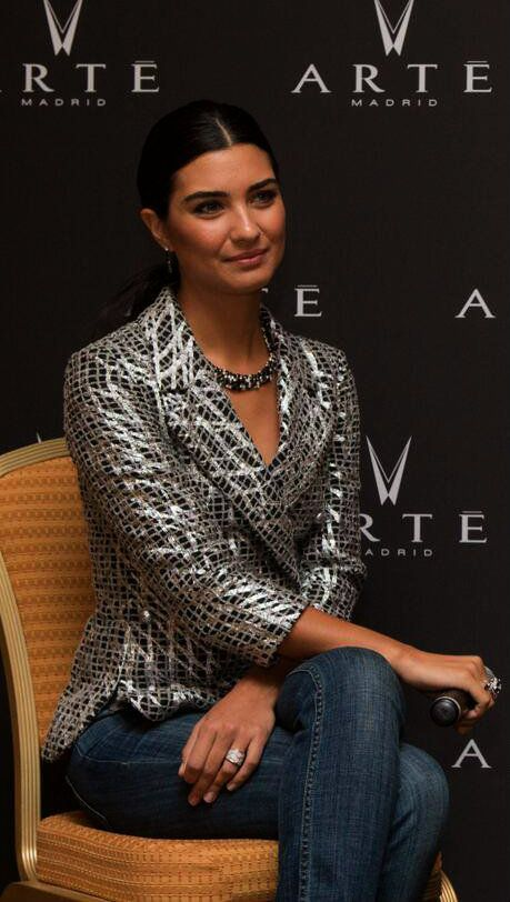 Tuba Büyüküstün at Arte Madrid (Middle East)'s press conference In Dubai 2013