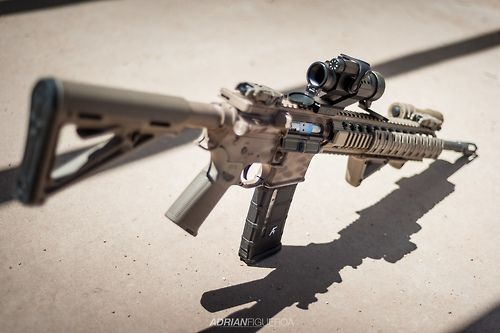 AR-15 by adrianoof
