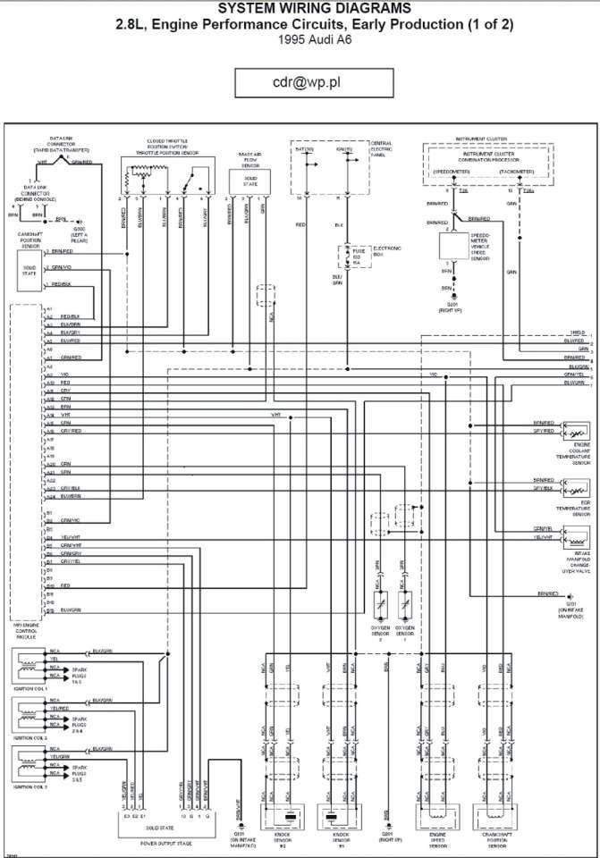 Audi A3 Engine Wiring Diagram and Audi A Wiring Diagram