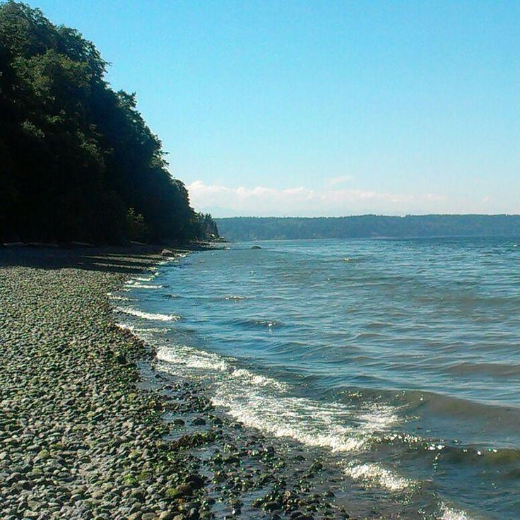 Vashon Island beach