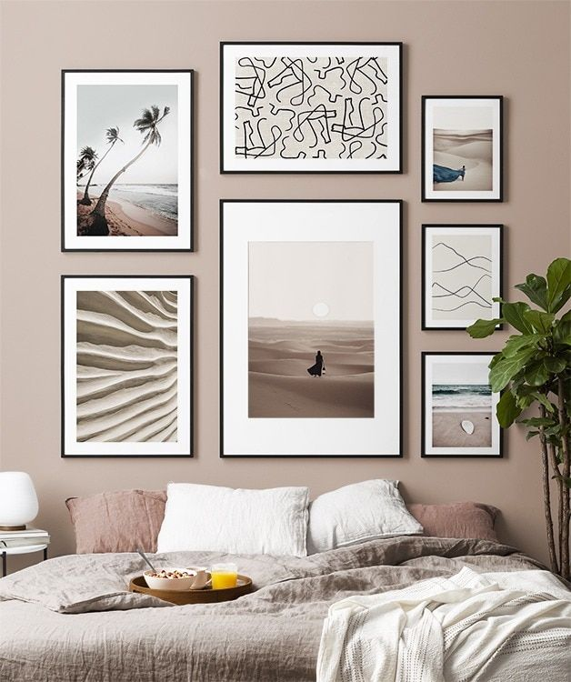 Gallery Wall And Picture Wall Inspiration Desenio Com In 2020 Gallery Wall Online Wall Art Inspirational Wall Art