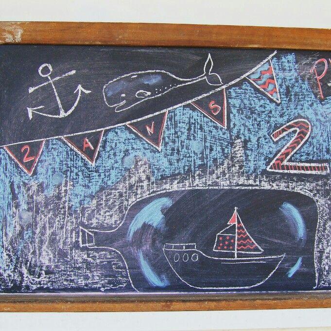 Tableau d'accueil fête matelot