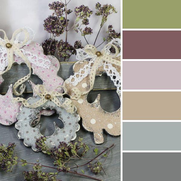 Этой Ярмарки краски: 15 новогодних цветовых палитр от мастеров портала - подвески