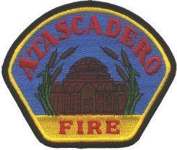 Atascadero Fire Department, Atascadero, California ##atascadero #california #fire #rescue #setcom #patches #logo #uniform #patch http://setcomcorp.com/900intercom.html