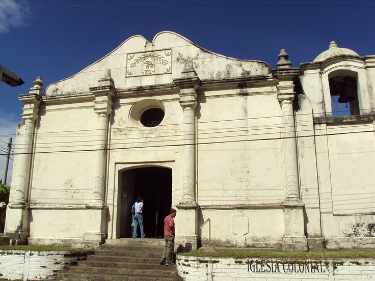 Colonial Church of Salcoatitan,  El Salvador