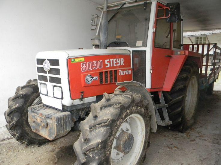 Base-Star.net » Anzeigenmarkt » Verkaufe für meinen Nachbarn Steyr 8090 Allradtraktor