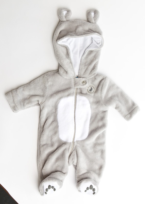 How cute!  Peter Rabbit suit from Myer $39.95