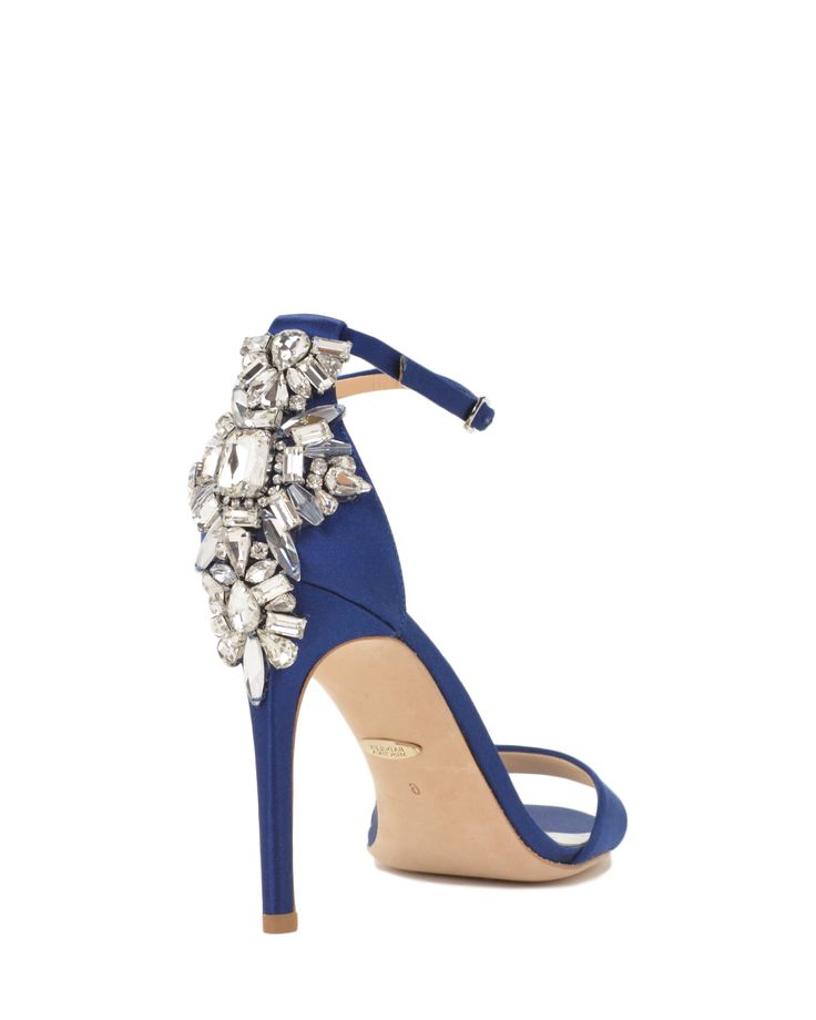 Badgley Mischka Bartley Embellished Heel Evening Shoe, now available at the official website. Free shipping, returns and exchanges.