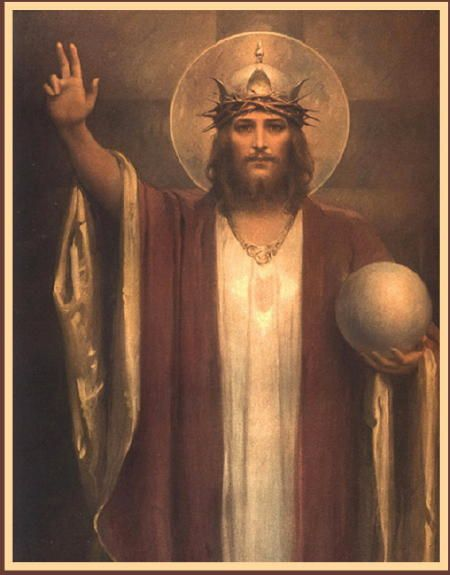 On the origins of the Feast of Christ the King … http://corjesusacratissimum.org/2013/10/world-materialism-and-the-feast-of-christ-the-king/