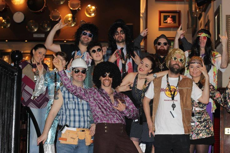 June: We celebrated Hard Rock's 44th birthday with 1970's dress-up and 71p burgers all day! #ThisIsHardRock