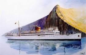 Resultado de imagen de acuarela madrid spirit mar y barcos