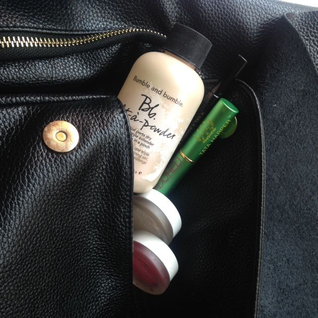What do beauty junkies carry in their bags all day? Britt tells all | LUX Beauty Boutique