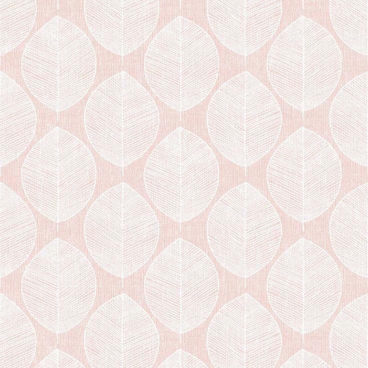 Arthouse Vip Wallpaper Scandi Leaf Pink 908200 Wonderwall By Nobletts Blush Wallpaper Rose Gold Decor Home Art