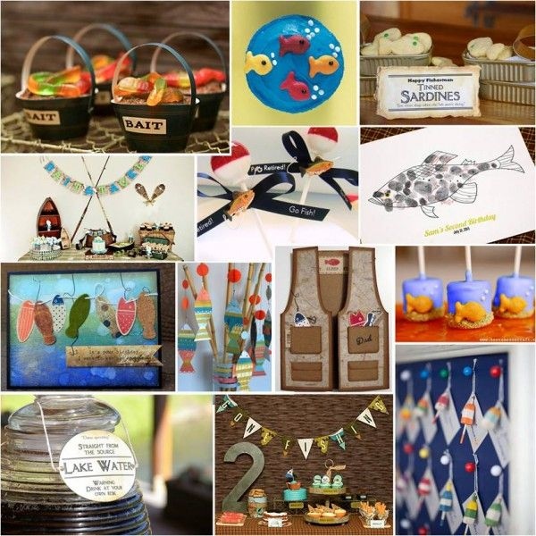 121 best office retirement party ideas images on pinterest for Fishing themed party supplies