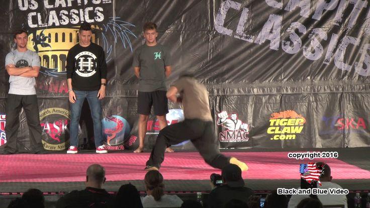 Hyper Tricking Contest at 2016 U S Capitol Classics Karate Tournament