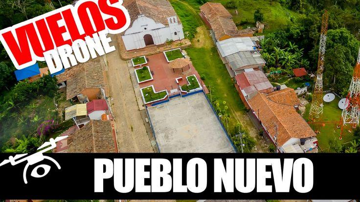 (DRON) Pueblo Nuevo - Dji Phantom