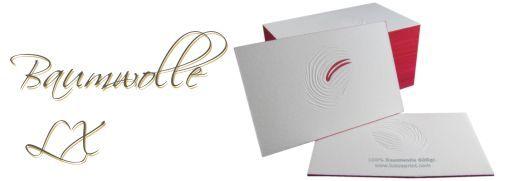 Business card Letterpress LX
